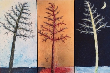 Tree Unity Dawn + Golden Hour + Moonlight