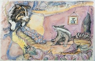 Odie & Badger