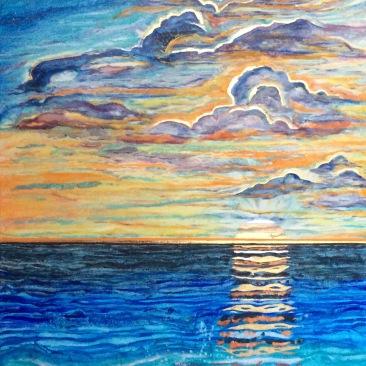 Sinking Sun Waters