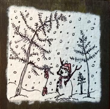 Snowbear Mittens