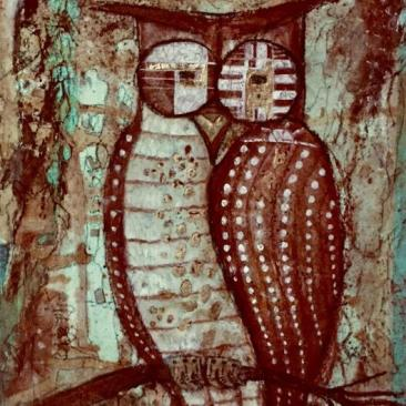 SOLD Cave Owl of the Ancients