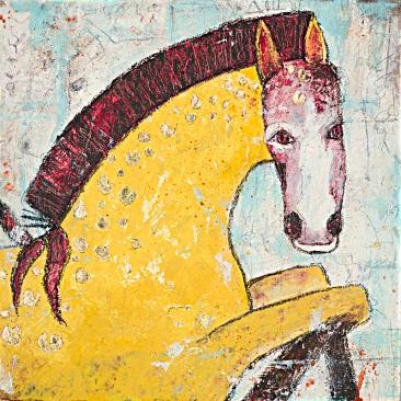 Cranberry Horse